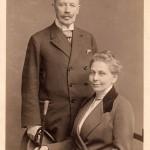 Die Eltern: Dr. med. Paul Bergengruen und Helene Bergengruen, geb. von Boetticher. Riga, um 1890