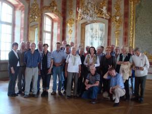 Im Schloss Rundale - Juli 2011