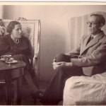 Werner Bergengruen in Rom, 1948
