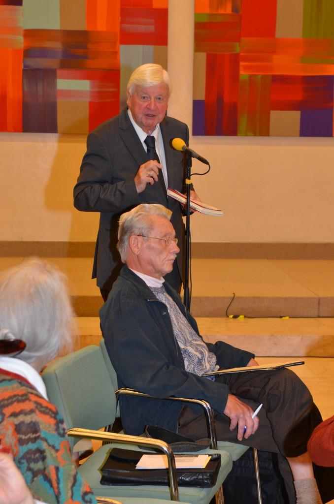 Wortmeldung von Kultusminister a.D. Prof.Hans Maier