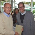 Zwei Referenten Prof. Peter Steinbach und Albert von Schirnding
