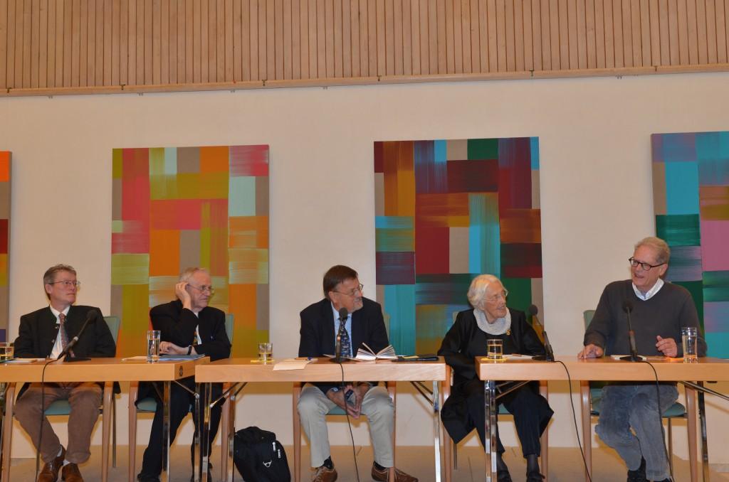 vl. Lorenz Schütze, Prof. Otto Betz, E.Lange, Maria Schütze, Albert v. Schirnding