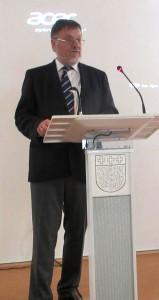 Vorsitzender der Werner Bergengruen Gesellschaft Eckhard Lange